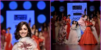 Lakme Fashion Week 2019 Photos: Yami Gautam almost trips on ramp