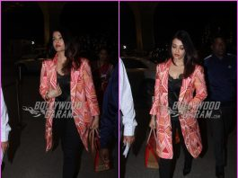 Aishwarya Rai Bachchan makes a gorgeous appearance at airport