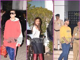 B'towners leave for pre-wedding bash of Akash Ambani