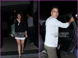 Akshay Kumar  and Twinkle Khanna spend quality time over dinner