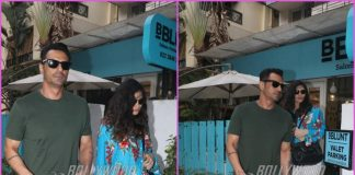 Arjun Rampal on a casual outing with girlfriend Gabriella Demetriades
