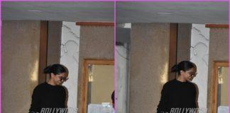 Deepika Padukone steps out of a clinic