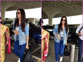 Deepika Padukone looks cheerful as she heads to Kochi