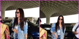 Deepika Padukone looks cheerful as she heads to Kochi