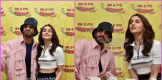 Ranveer Singh and Alia Bhatt have fun at Radio Mirchi while promoting Gully Boy