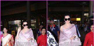 Kangana Ranaut looks gorgeous at airport