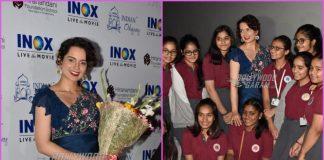 Kangana Ranaut hosts special screening of Manikarnika – The Queen of Jhansi for school children