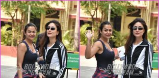 Kareena Kapoor and Amrita Arora hit the gym together