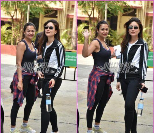 Kareena Kapoor and Amrita Arora hit the gym together