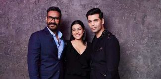 Ajay Devgn wins an Audi A5 sports carfor his answer at Karan Kohar's Koffee With Karan
