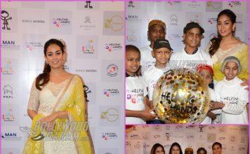 Mira Rajput inaugurates Helping Hands exhibition in Mumbai
