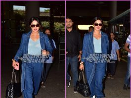 Priyanka Chopra returns to Mumbai in style