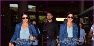 Priyanka Chopra returns to Mumbai in style