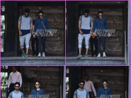 Shahid Kapoor and Mira Rajput workout together at gym