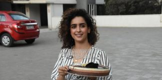 Sanya Malhotra celebrates birthday with media