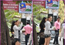 Sara Ali Khan all smiles for paparazzi on casual outing