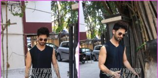Shahid Kapoor looks dapper outside gym