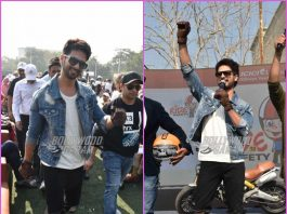 Shahid Kapoor spreads awareness about road safety