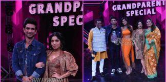 Sushant Singh Rajput and Bhumi Pednekar promote Sonchiriya on sets of Super Dancer