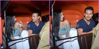 Tiger Shroff and Krishna Shroff take an auto rickshaw ride