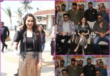 Madhuri Dixit, Anil Kapoor and Ajay Devgn promote Total Dhamaal together