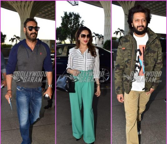 Team Total Dhamaal leave for Delhi for promotions