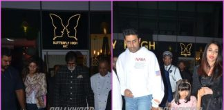 Abhishek Bachchan celebrates birthday with a cozy dinner