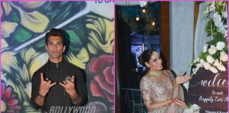 Bipasha Basu and Karan Singh Grover at sister Vijeta Basu's wedding reception