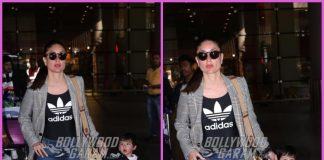Kareena Kapoor and Taimur Ali Khan at their stylish best at Mumbai airport