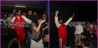 Ranveer Singh enthralls the audience with his rapping skills at Gully Boy promotions at a theatre