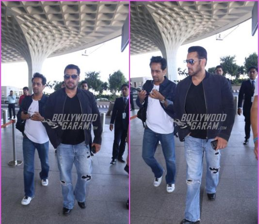 Salman Khan leaves for Chandigarh in style