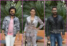 Total Dhamaal team promotes film in Delhi