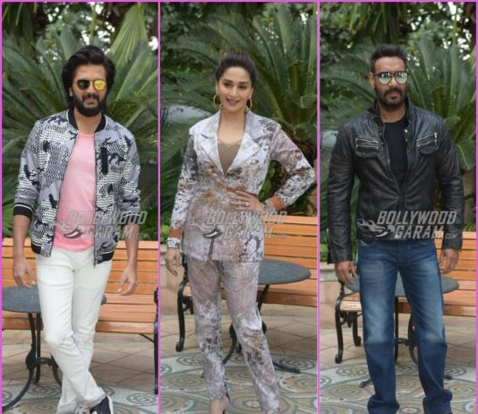 Total Dhamaal team promotes film in Delhi