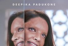 Deepika Padukone shares first look of Chhapaak