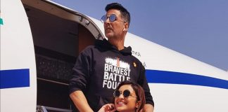 Akshay Kumar and Parineeti Chopra promote Kesari in Ahmedabad
