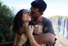 Amy Jackson and George Panayiotou get engaged at a ceremony in London
