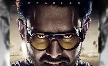 Saaho new poster has shown a penetrating stare from Prabhas