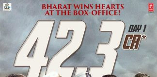 Bharat breaks opening day box office records