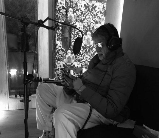 Amitabh Bachchan begins work on Gulabo Sitabo
