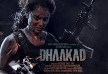 Kangana Ranaut starrer Dhaakad new poster unveiled