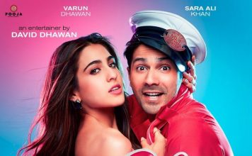 Varun Dhawan and Sara Ali Khan dazzle on new poster of Coolie No.1