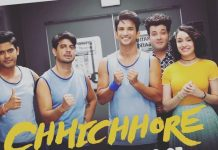 Chhichhore film fast inches towards Rs. 100 crore mark