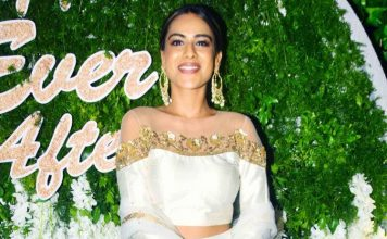 Nia Sharma burns her Diwali outfit at a party