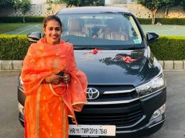 Babita Phogat gets a new luxury ride as gift from husband Vivek Suhag