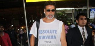 Akshay Kumar shoots for advertising campaign for R. Balki