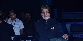 Amitabh Bachchan shoots for KBC with ample precautions