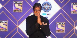 Amitabh Bachchan shoots for Kaun Banega Crorepati 12 promo from his residence