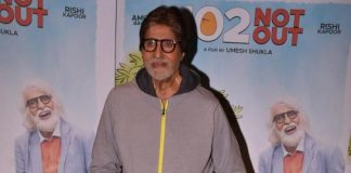Amitabh Bachchan shares a rainy day picture from his window