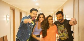Rani Mukerji and Saif Ali Khan complete shoot of Banti Aur Babli 2
