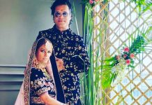 Poonam Pandey and Sam Bombay get married in a private ceremony